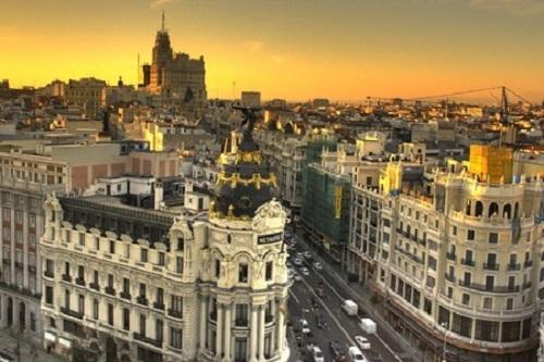 Vistas aéreas de Madrid 2014